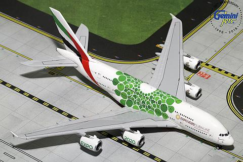 "Airbus A380-800 ""Green Expo 2020"""